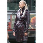 Thunder Force Pom Klementieff Leather Coat