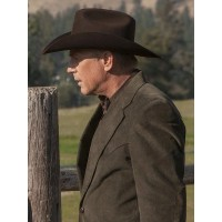 Kevin Costner Yellowstone John Dutton Blazer Coat