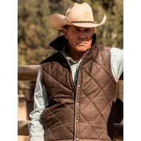 Kevin Costner Yellowstone John Dutton Vest
