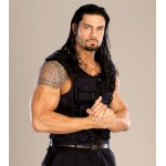 Roman Reigns WWE Swat Tactical Leather Vest