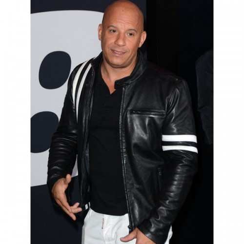 Vin Diesel The Fate of the Furious 8 Leather Jacket