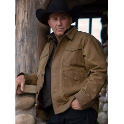 Yellowstone Season 2 John Dutton Brown Jacket