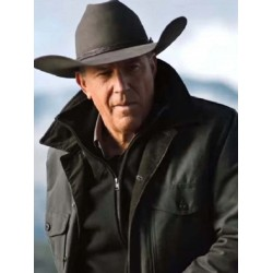 Yellowstone Season 2 John Dutton Green Jacket