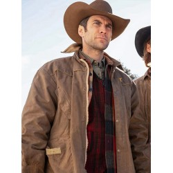 Yellowstone Wes Bentley Cotton Jacket
