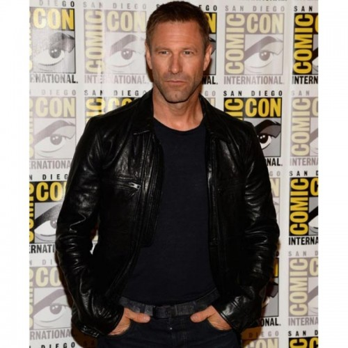 Aaron Eckhart Adam Frankenstein Leather Jacket