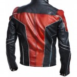 Antman Red & Black Leather Jacket