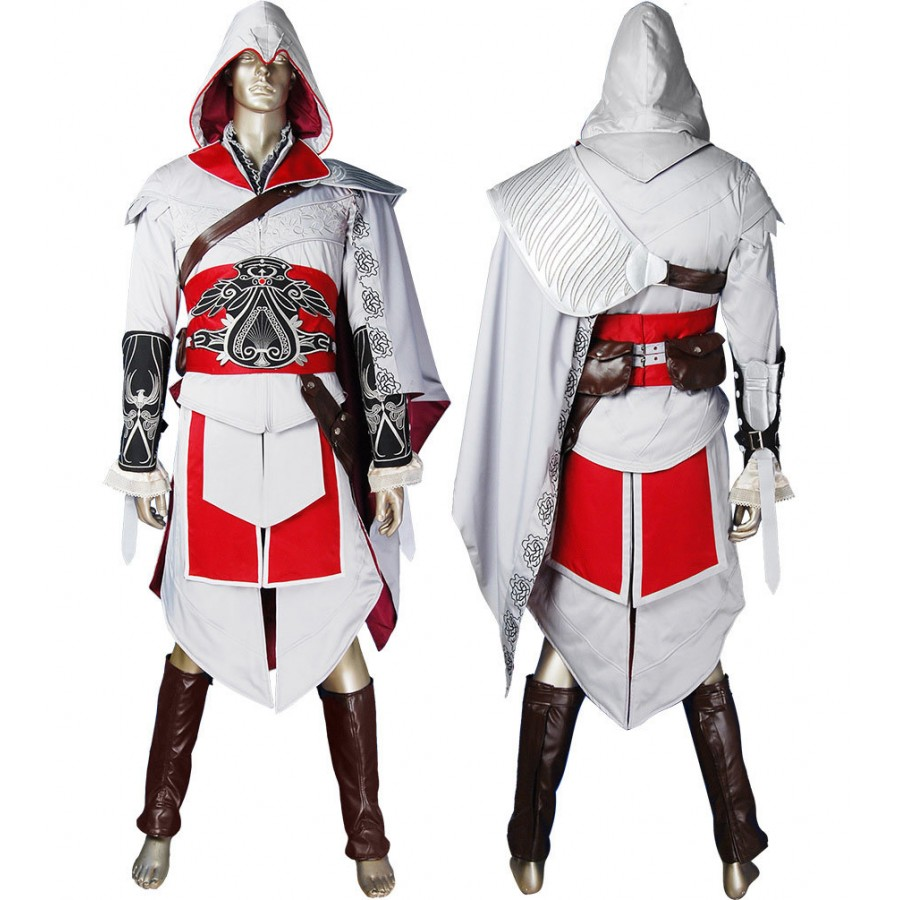 Assassin Creed Ninja Costume For Women Glamour Jackets