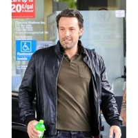 Ben Affleck Black Jacket