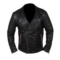 Blue Valentine Ryan Ghosling Black Leather Jacket