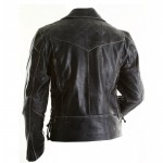 Brando Black Motorycle Leather Jacket