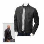 Bruce Willis A Good Day To Die Hard 5 Black Leather Jacket