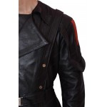 Captain America Avenger Red Skull Leather Coat