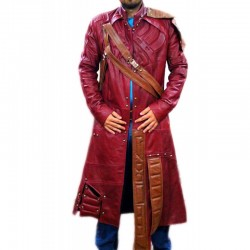 Guardians of the Galaxy (Star Lord) Chris Pratt Leather Coat