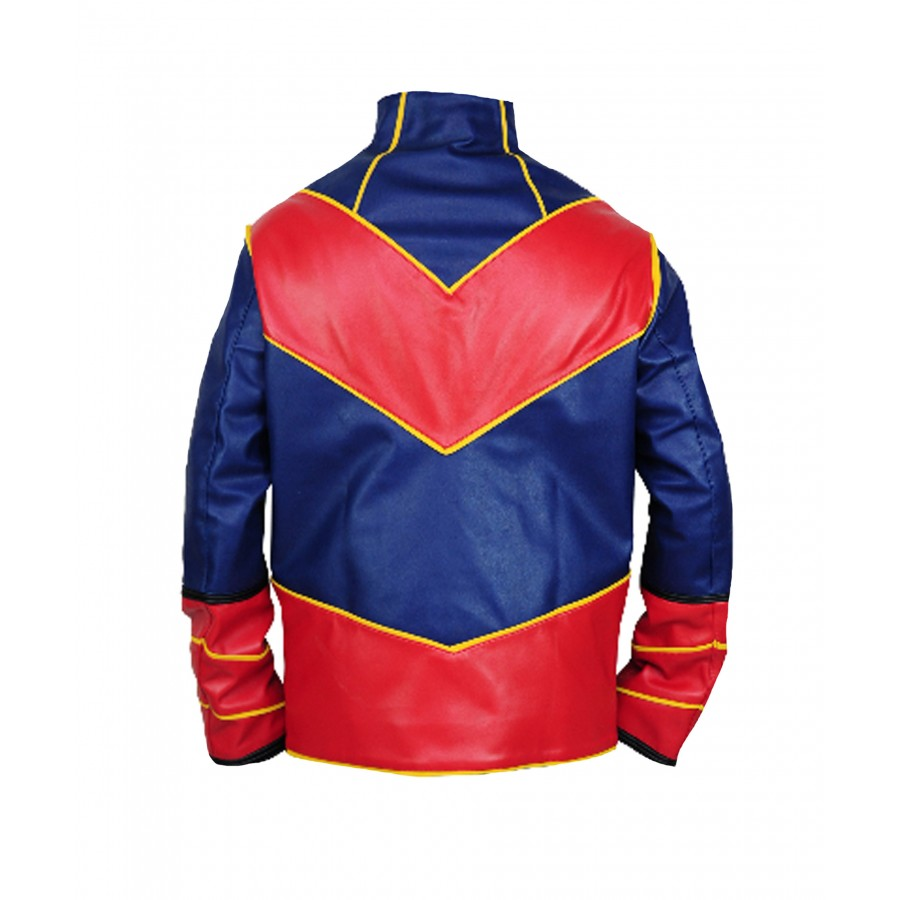 Ray Manchester Captain Man Costume Leather Jacket Glamour Jackets