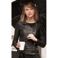 Taylor Swift New York Leather Jacket