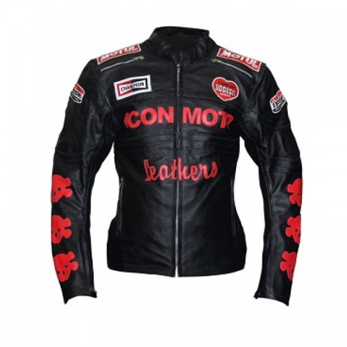Icon Moto Moterbike Leather Jacket