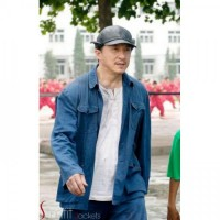 JACKIE CHAN THE KARATE KID COTTON JACKET