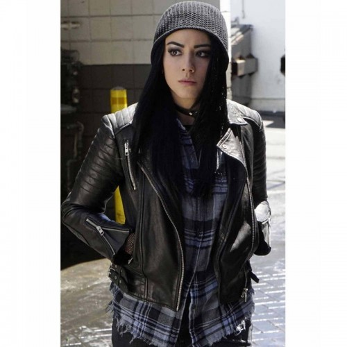 Agents of Shield Chloe Bennet Leather Jacket