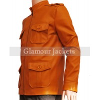 CLARK CHESTER VINTAGE SLIM FIT MEN'S LEATHER JACKET