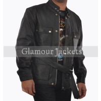 Curious Case Of Benjamin Button Brad Pitt  Leather Jacket