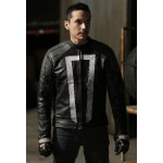 Gabriel Lun Agents of Shields Leather Jacket