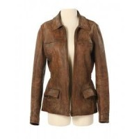 Katniss Everdeen The Hunger Games Leather Jacket