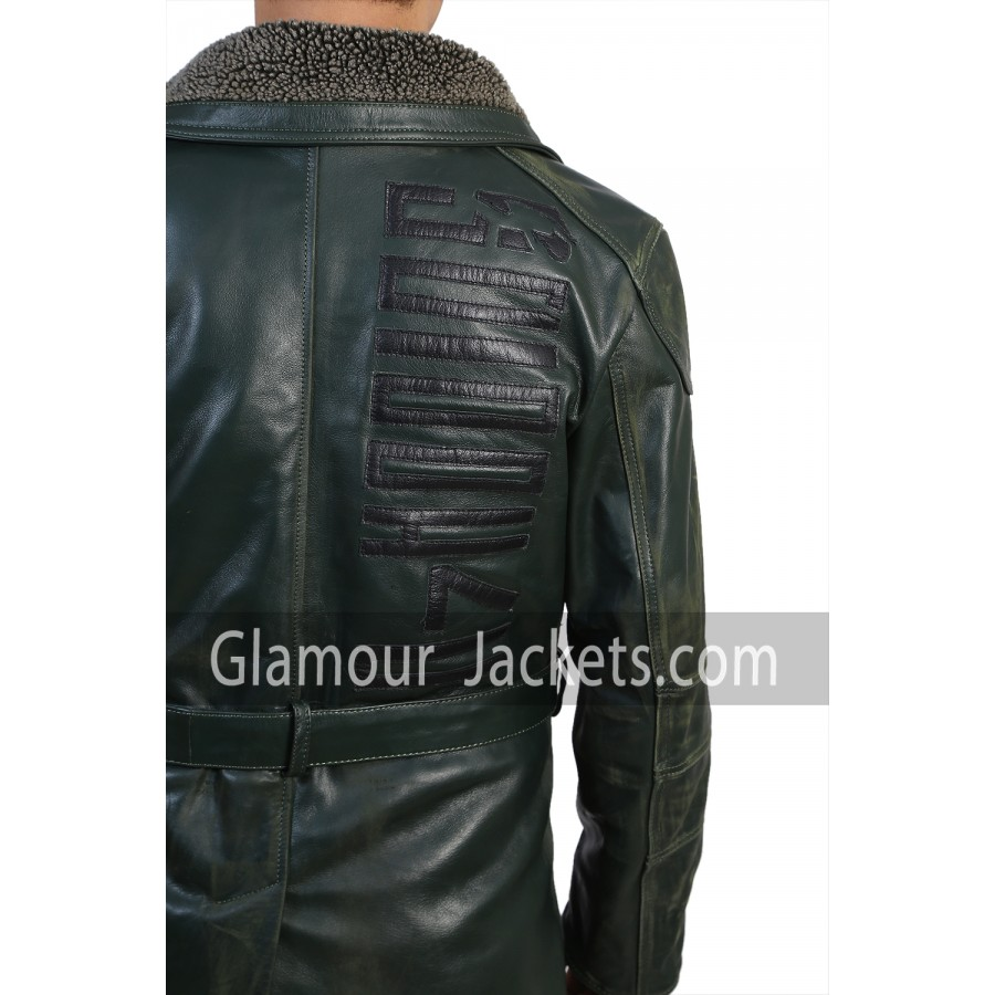 Ryan Gosling BLADE RUNNER 2049 REAL LEATHER JACKET COAT