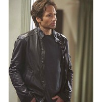 Californication Season 5 Hank Moody Leather Jacket