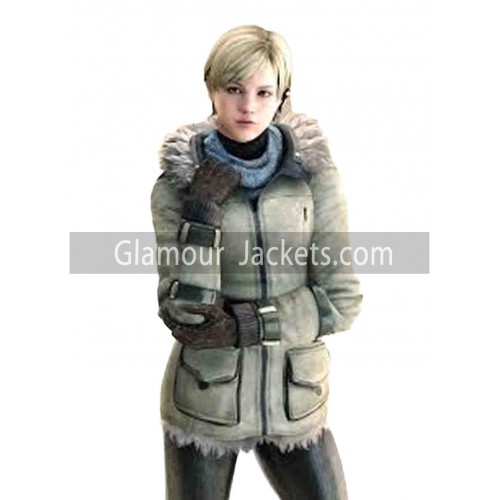 Sherry Birkin Video Game Resident Evil 6 Leather Jacket