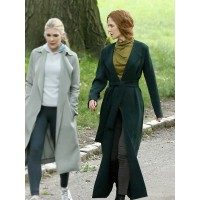 Nicole Kidman The Undoing Green Trench Coat