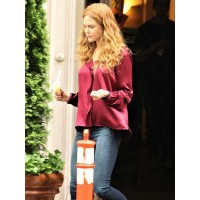 The Undoing Nicole Kidman Maroon Shirt