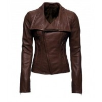 Arrow TV Series Lyla Michaels Brown Jacket