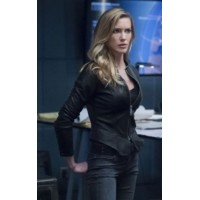 Katie Cassidy Arrow Season 7 Jacket
