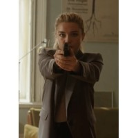Black Widow 2021 Yelena Belova Blazer Jacket
