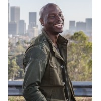 Fast And Furious 7 Tyrese Gibson Leather Jacket