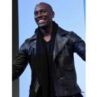 The Fate of the Furious Premiere Tyrese Gibson Leather Jacket