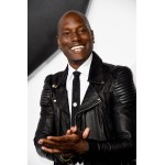 Tyrese Gibson Fast and Furious 7 Black Leather Jacket