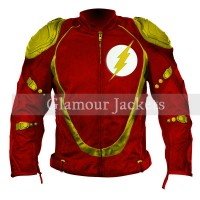 Flash Biker Pure Leather Jacket