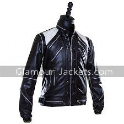 Michael Jackson Beat it Black Leather Jacket