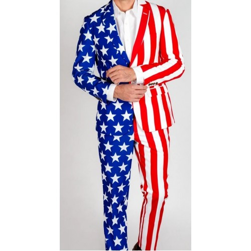 American Flag stars and stripes Suits
