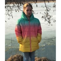 MADELEINE SWANN NO TIME TO DIE RAINBOW JACKET