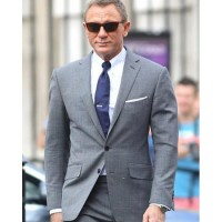 NO TIME TO DIE JAMES BOND GREY SUIT