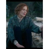 Nicole Kidman The Undoing Checked Coat