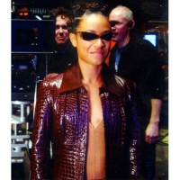 THE MATRIX 4 NIOBE RED LEATHER JACKET