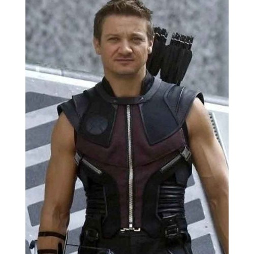 The Avengers Hawkeye Leather Vest