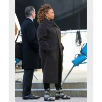 Robyn McCall The Equalizer 2021 BLACK Coat