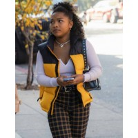 The Equalizer 2021 Laya DeLeon Hayes Vest