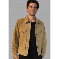 Wes Bentley Yellowstone Jamie Dutton Leather Jacket