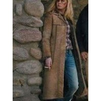 Yellowstone Beth Dutton Leather Coat